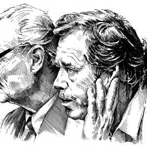 Alexander Dubček - Václav Havel