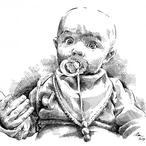 Vnučka Magdalénka