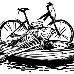 Kapr na loďce