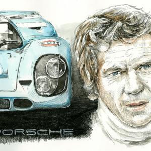 Steve McQueen's Le Mans - Porsche 917