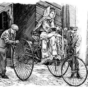 Benz Patent Motorwagen číslo 1