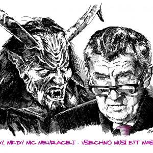 Andrej Babiš - spolčení s ďáblem