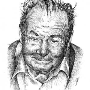 Portrétní perokresba