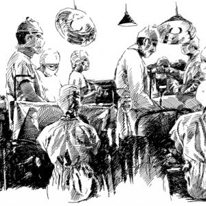 MASH - operační sál