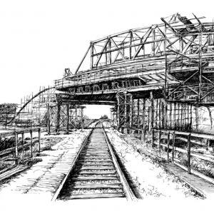 Stavba Mostu - obchvat Moravské Budějovice