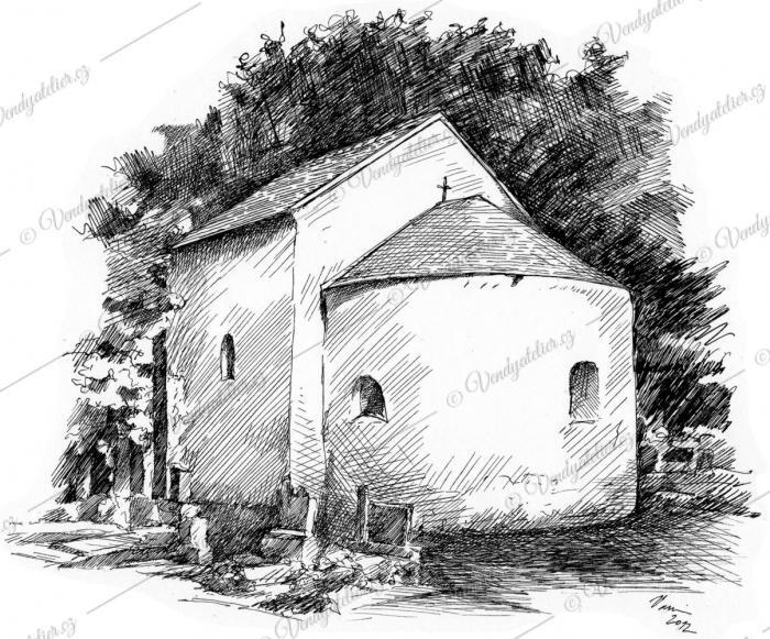 Obec Rybníky - kostel