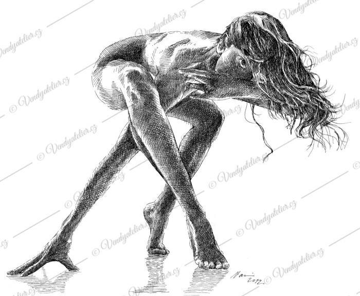 startující - žena