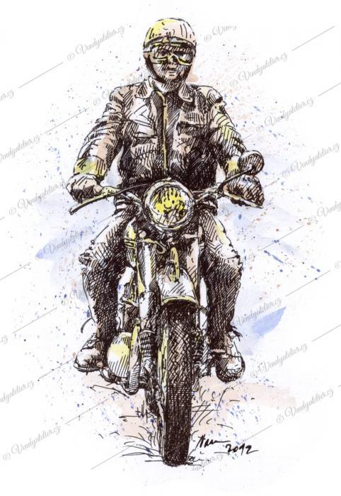 Jawa 350, motoveterán