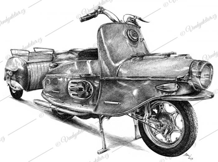 Čezeta byl skútr vyroběný 1957 - 1964