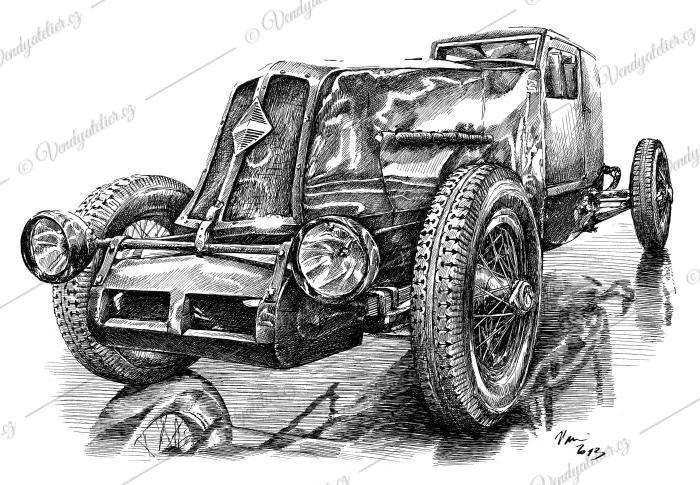Renault 40 CV - typ NM des records - 1926