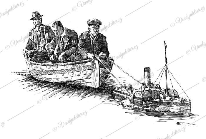 Pánové na lodičce
