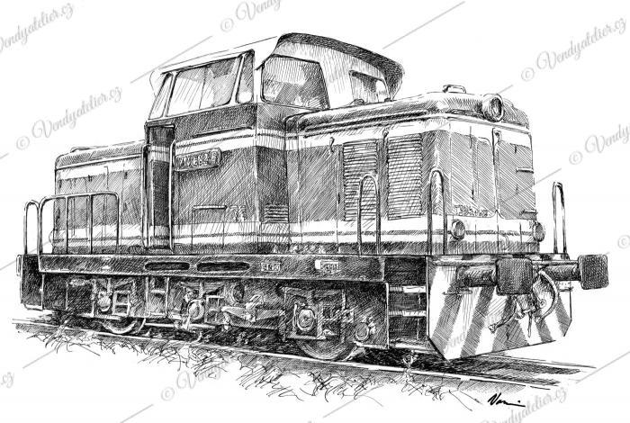 ČKD lokomotiva řada 710 (T 334.0) - Rosnička