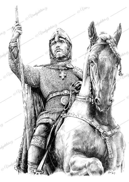Svatý Václav, Wenzel von Böhmen