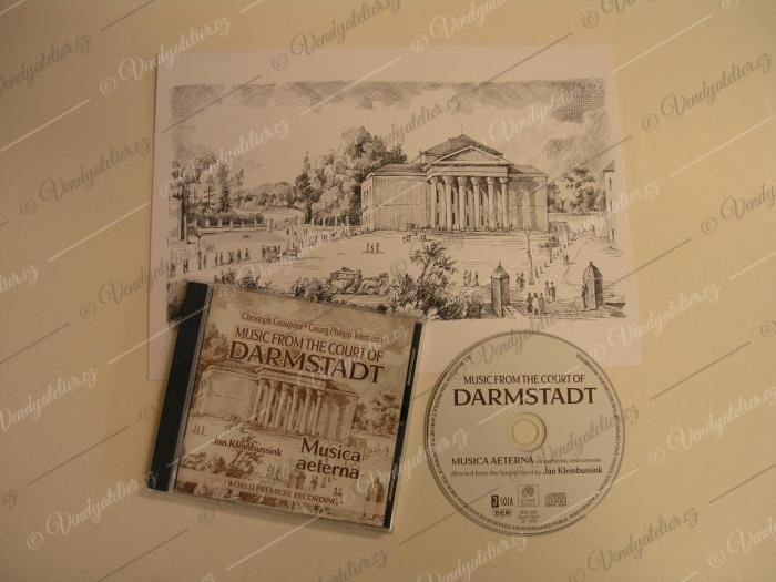 Booklet CD - Musica aeterna v Bratislavě