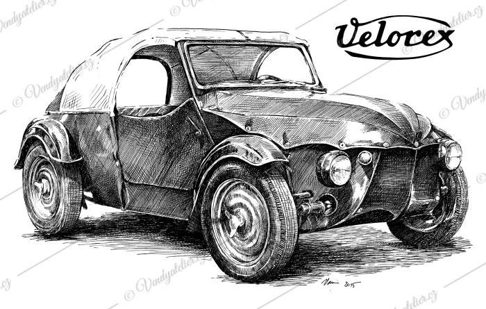 Velorex - čtyřkolka