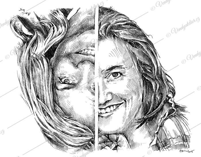 Jana a Hana - dvojportrét