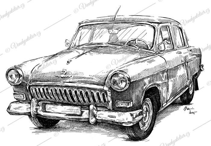 Volha - GAZ M-21