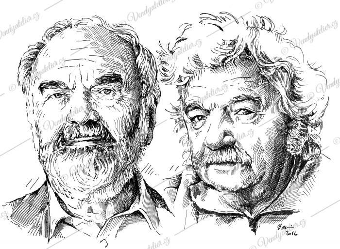 Zdeněk Svěrák a Ladislav Smoljak