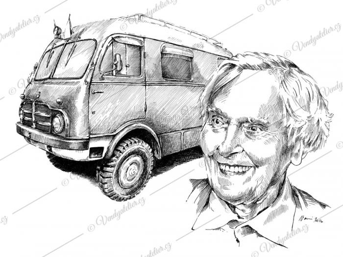 Miroslav Zikmund a Tatra 805