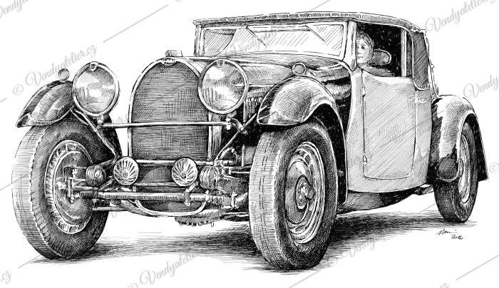 Bugatti Type 46 Roadster Ettore