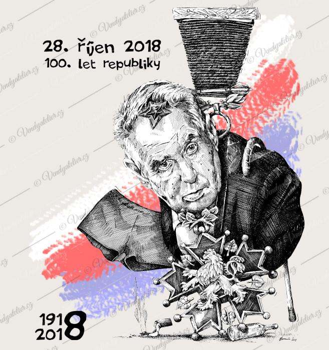 100 let republiky - Zeman