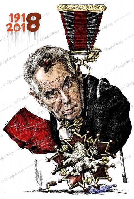 100 let republiky - Zeman