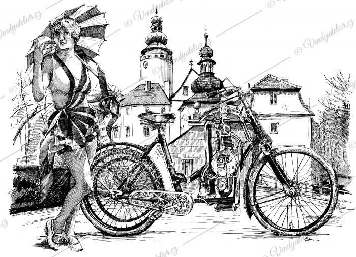 Laurin a Klement - motocykl
