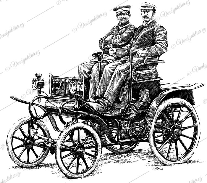 Opel Patent Motor Wagen, System Lutzmann z roku 1899