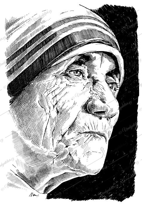 Matka Tereza - Řeholnice