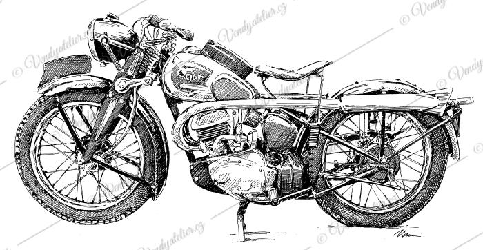 Ogar 250, rok 1938