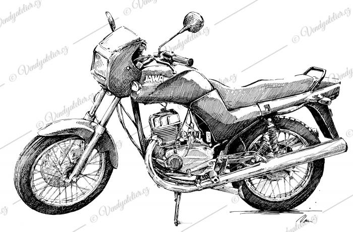 Jawa 350 - style 640