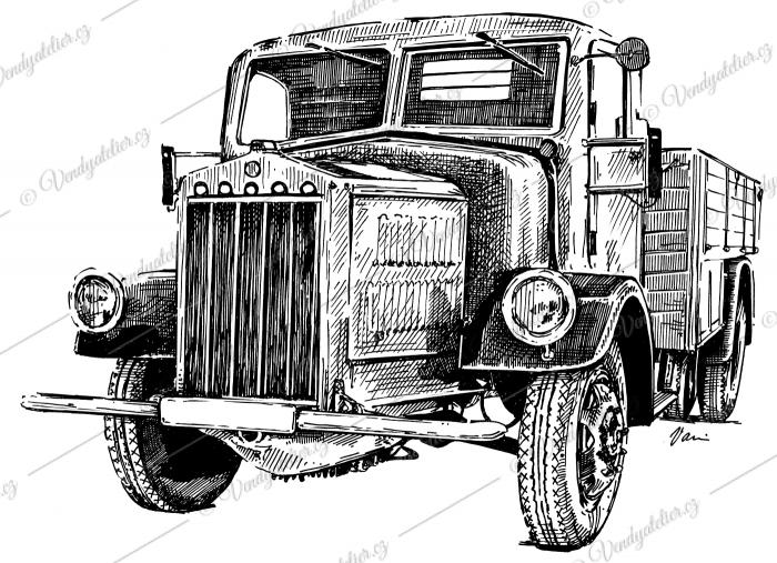 Tatra T27B valník