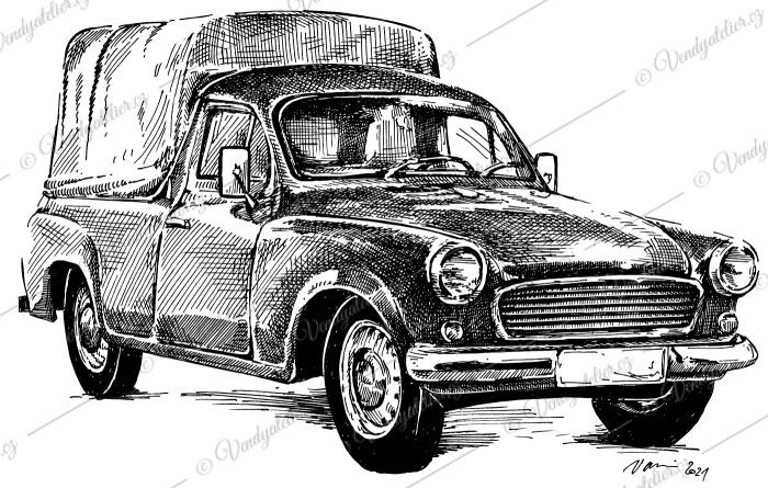 Škoda 1202 Pick up