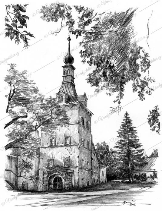 Uherčice - zámek