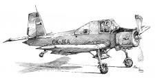 Práškovací letadlo - Čmelák