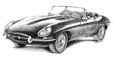 Jaguar E-Type Coupe rok 1961-1965