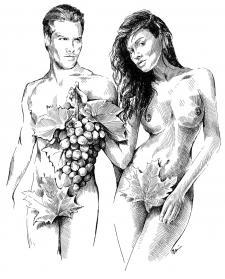 Adam a Eva z Moravy