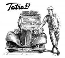 Tatra 57 - František Dvořáček