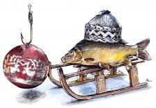 České vánoce - kapr