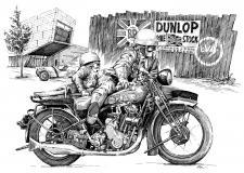 BSA motorka