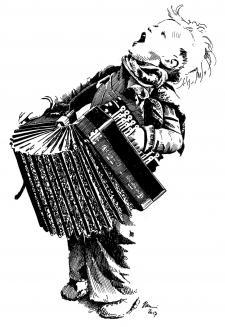 Kluk harmonikář