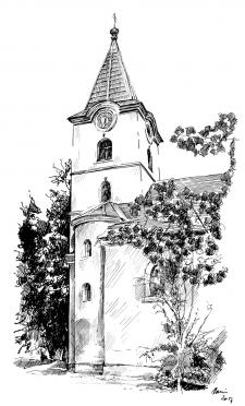 Okříšky - kostel Jména Panny Marie
