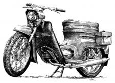 Jawa 05 Pionýr - 1972