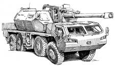 DANA-M2 samohybná kanónová houfnice