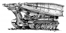 CZK - MT-55A (mostní tank)