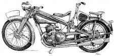 Jawa 175 Autoškola - 1936