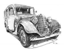 Autoveterán Praga