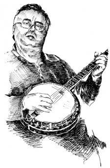 Honza - hráč na banjo