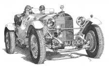 Autoveterán Mercedes-Benz