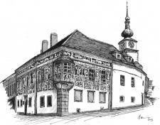 Třebíč, Malovaný dům